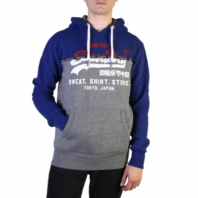 Bluze sport Superdry M2000050B Albastru