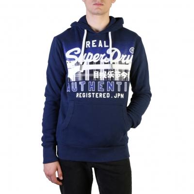 Bluze sport Superdry M2000067B Albastru