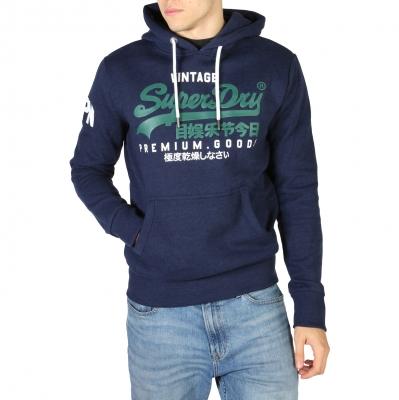 Bluze sport Superdry M2010494A Albastru