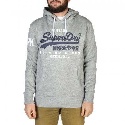 Bluze sport Superdry M2010494A Gri