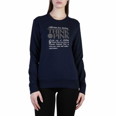 Bluze sport Think Pink T18SA3200547 Albastru