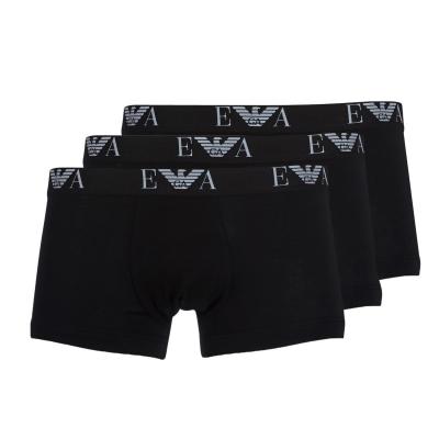 Boxeri Emporio Armani CC715-111357 Negru