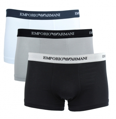 Boxeri Emporio Armani CC717-111357 Alb