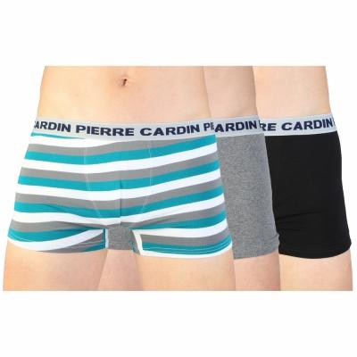 Boxeri Pierre Cardin Underwear PC3_NIZZA Negru