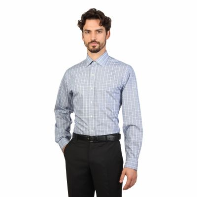 Camasi Brooks Brothers 100040454 Albastru