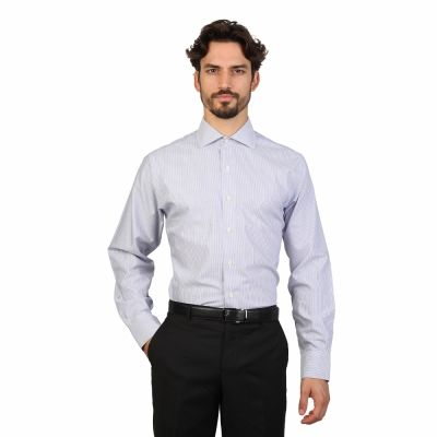 Camasi Brooks Brothers 100040489 Albastru