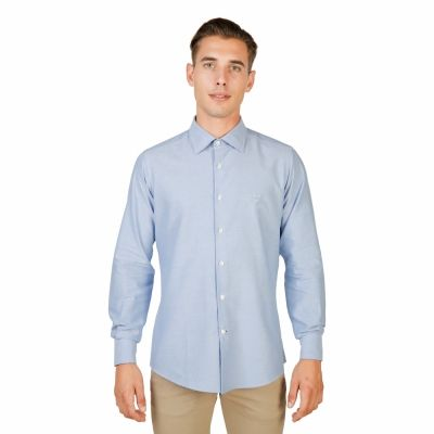 Camasi Oxford University OXFORD_SHIRT-FRENCH Albastru