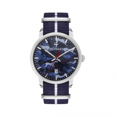 Ceasuri Trussardi T-GENUS_R245111 Albastru