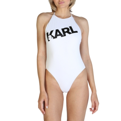 Costume de baie Karl Lagerfeld KL21WOP03 Alb