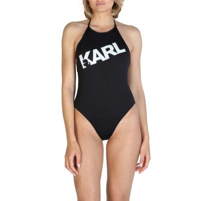 Costume de baie Karl Lagerfeld KL21WOP03 Negru
