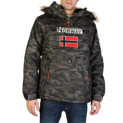 Geci Geographical Norway Boomerang_man_camo Verde