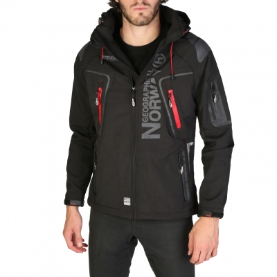 Geci Geographical Norway Techno_man Negru