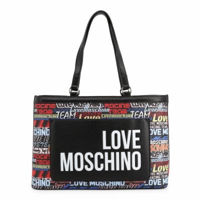 Genti casual Love Moschino JC4089PP1ALN Negru