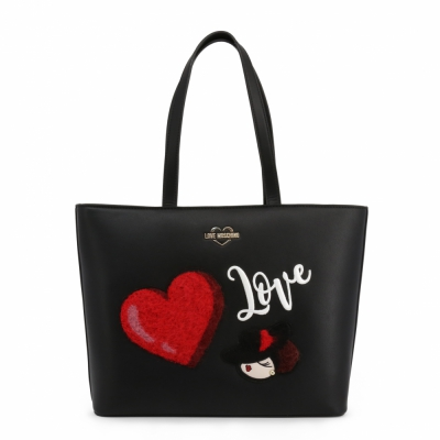Genti casual Love Moschino JC4090PP18LP Negru