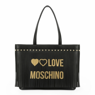 Genti casual Love Moschino JC4101PP18LS Negru