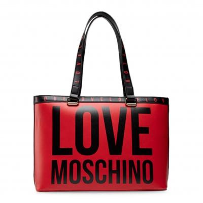 Genti casual Love Moschino JC4180PP1DLI0 Rosu
