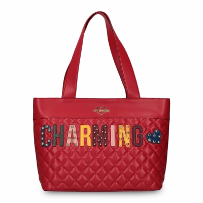 Genti Love Moschino JC4224PP06KC Rosu