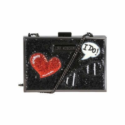 Genti plic Love Moschino JC4151PP15LL Negru