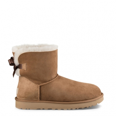 Ghete scurte Ugg MINI-BAILEY- BOW-II_1016501 Maro