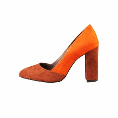 Pantofi cu toc Made In Italia GIADA Maro