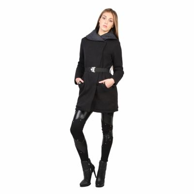 Paltoane Versace Jeans C4HMB978 Negru
