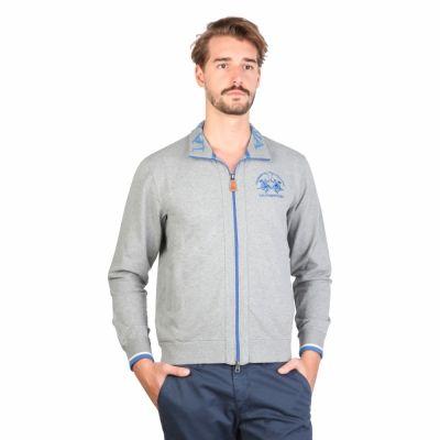 Bluze sport La Martina DMF001FP01 Gri