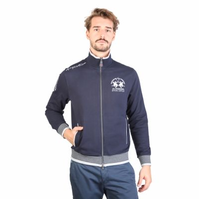 Bluze sport La Martina HMF602FP30 Albastru