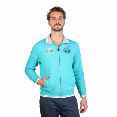 Bluze sport La Martina HMFF30FP43 Albastru