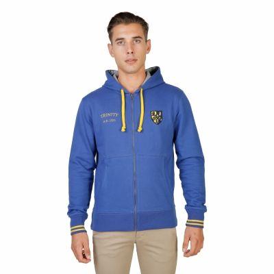 Bluze sport Oxford University TRINITY-HOODIE Albastru
