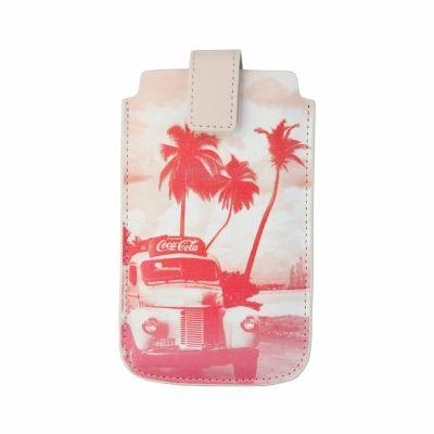 Huse telefon Coca Cola Cover Roz