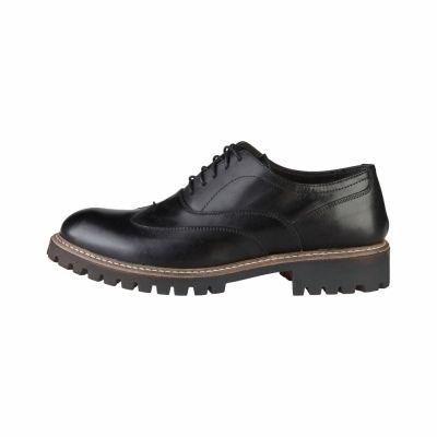Pantofi siret Made In Italia LUCA Negru