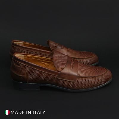 Mocasini Duca Di Morrone COL_PELLE-STAMPA Maro