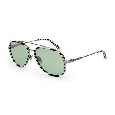 Ochelari de soare Calvin Klein CK18103S Alb