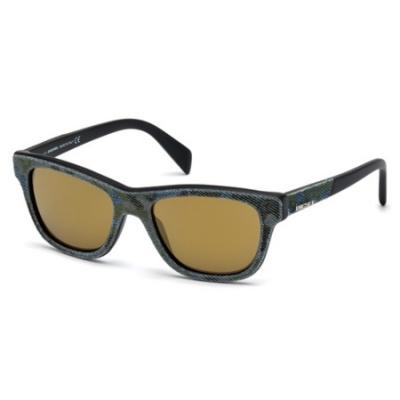 Ochelari de soare Diesel DL0111_52 Albastru