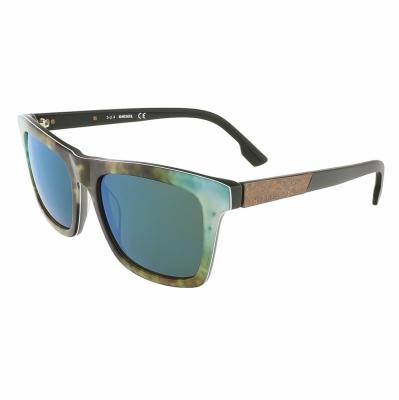 Ochelari de soare Diesel DL0120_54 Verde