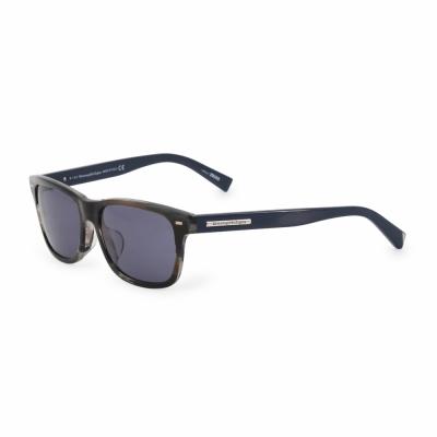 Ochelari de soare Ermenegildo Zegna EZ0001F Negru