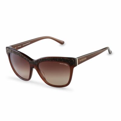 Ochelari de soare Guess GM0729 Maro