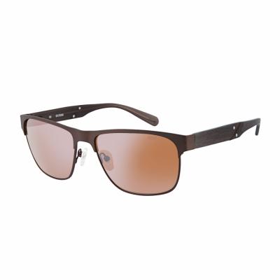 Ochelari de soare Guess GU6807 Maro