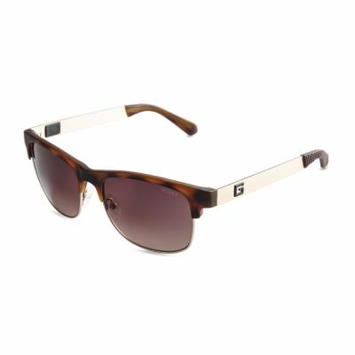 Ochelari de soare Guess GU6859 Maro