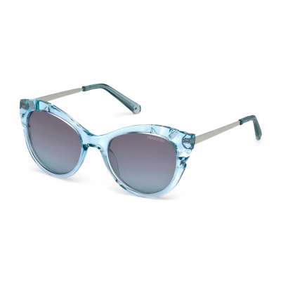 Ochelari de soare Swarovski SK0151 Albastru