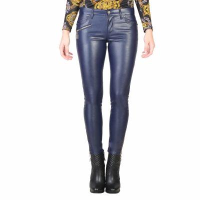 Pantaloni Versace Jeans A1HMB0HA Albastru
