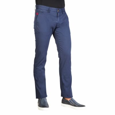 Pantaloni La Martina FMT012TW96 Albastru