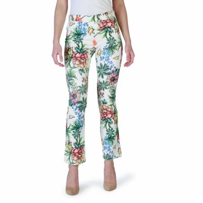 Pantaloni Fruscio R22G0ZY Alb