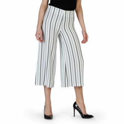 Pantaloni Lokita 10318 Alb