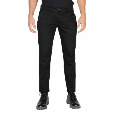 Pantaloni Oxford University OXFORD_PANT-REGULAR Negru