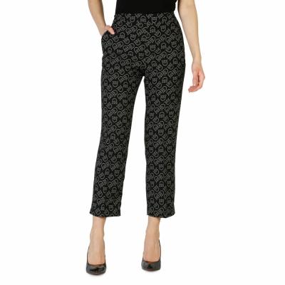 Pantaloni Pinko 1G132W_6838 Negru