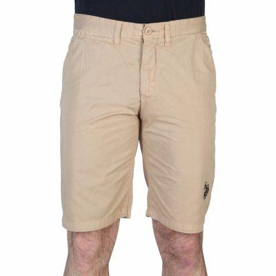 Pantaloni scurti U.s. Polo 42505_48461 Maro