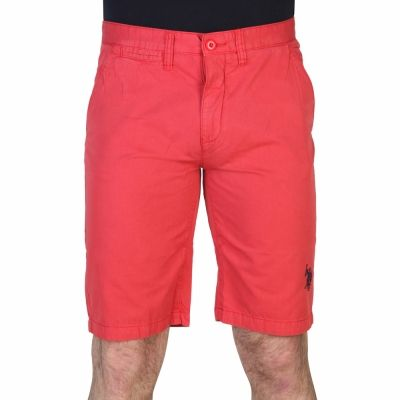 Pantaloni scurti Us Polo 42505_48461 Rosu