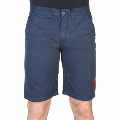 Pantaloni scurti U.s. Polo 42505_48461 Albastru