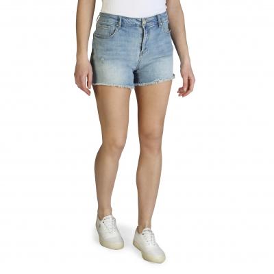 Pantaloni scurti Armani Exchange 3ZYJ66_Y2CTZ Albastru